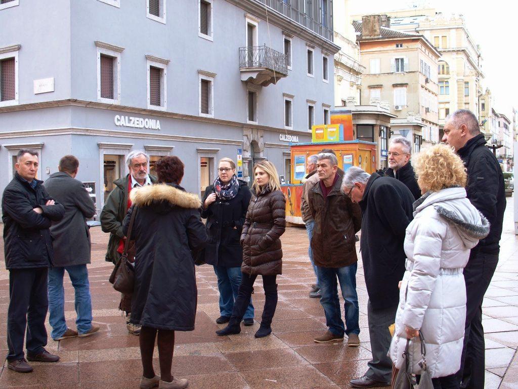 Dren 2014 - posjet gradu Rijeci